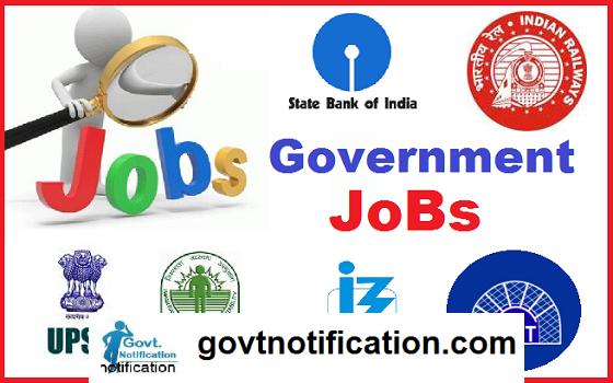 Government Jobs Recruitment, Govt Jobs Recruitment, Govt Jobs